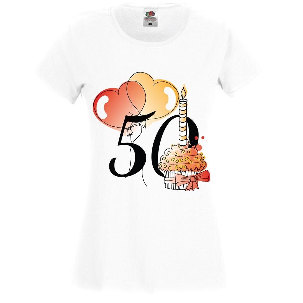 Jubileumi póló - 50 éves hölgynek