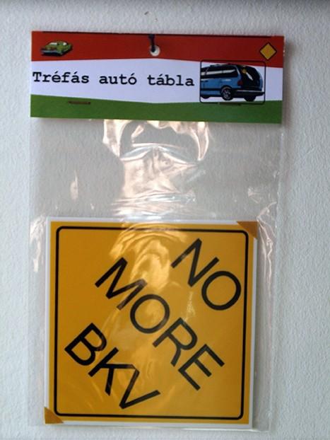 Autós tábla
