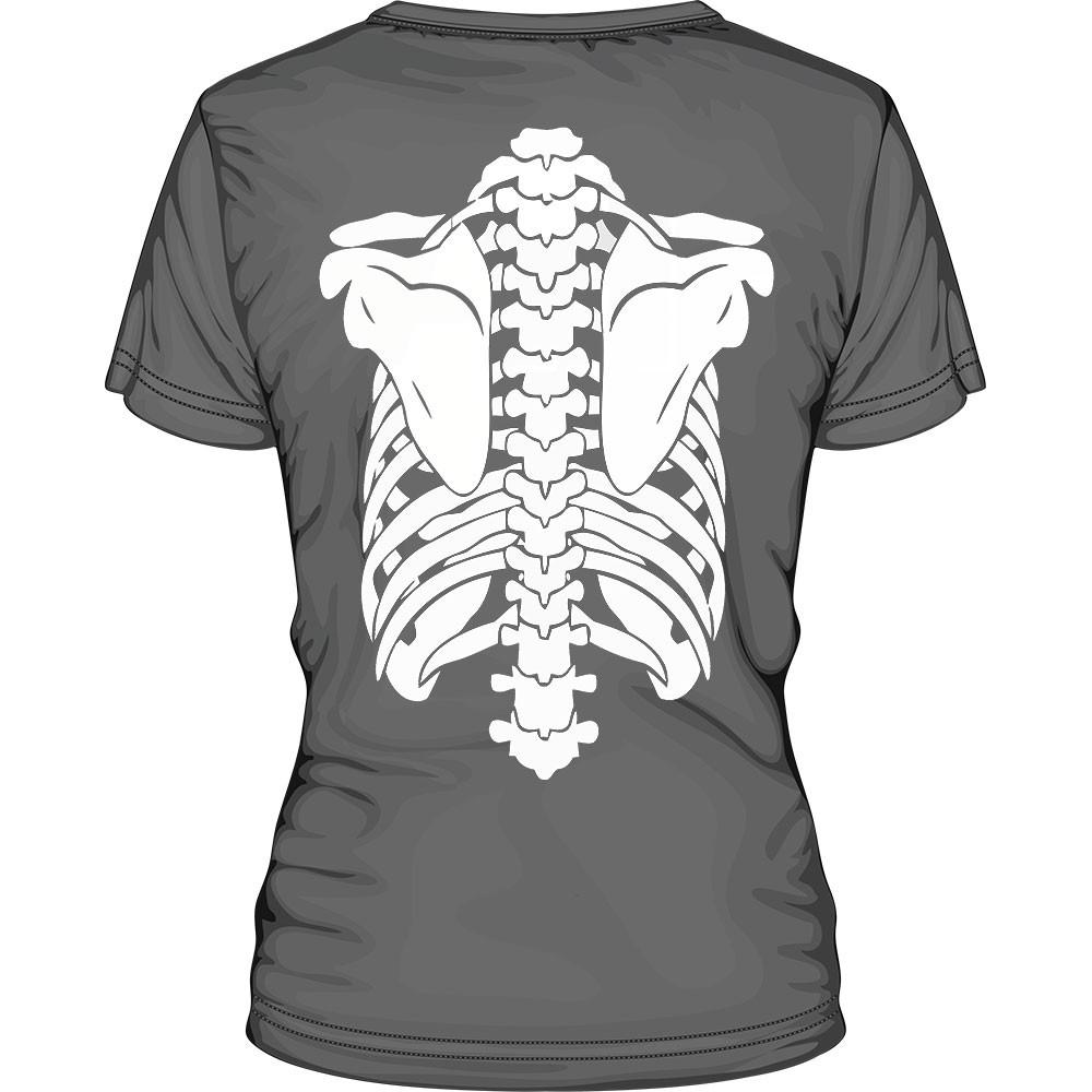 Csontváz póló