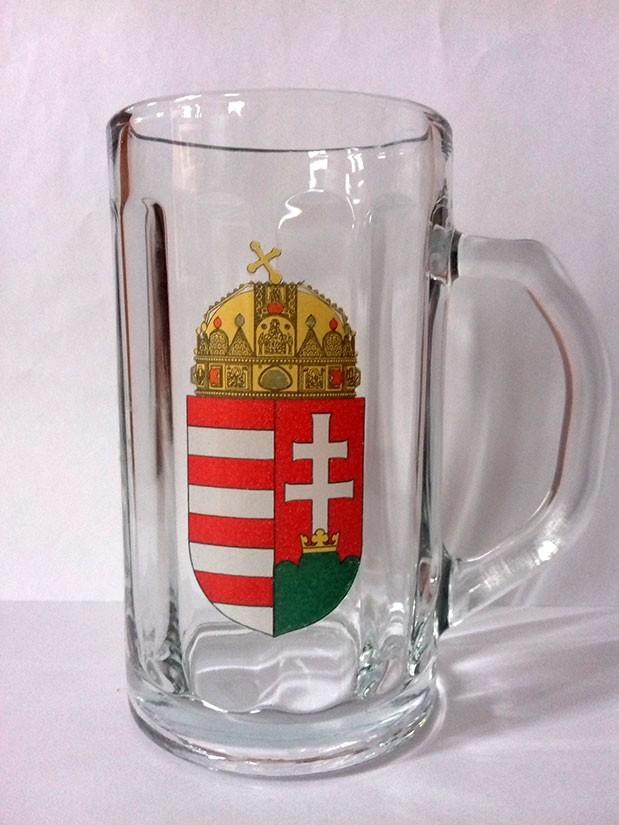 Söröskorsó a magyar címerrel