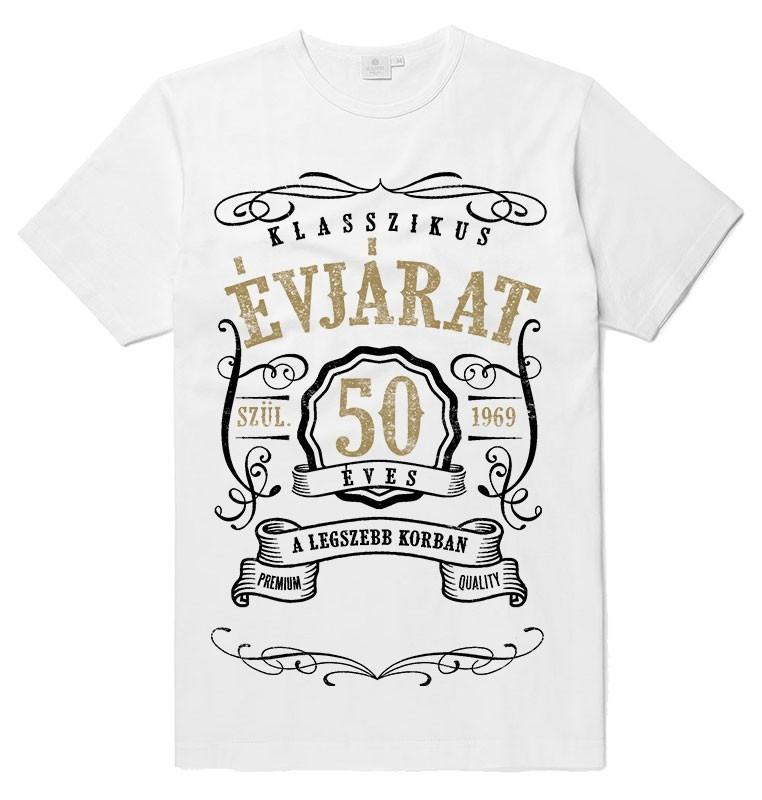 Vintage póló - fehér