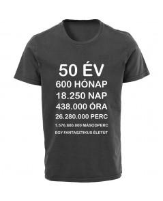 Szülinapi póló - Ennyi idős vagyok