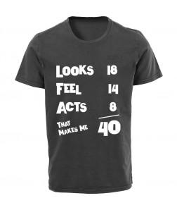 születésnapi póló