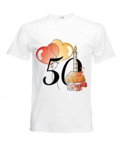Jubileumi póló - 50 éves férfinak