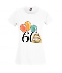 Jubileumi póló - 60 éves hölgynek