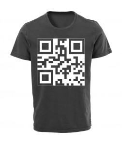 QR kódos póló