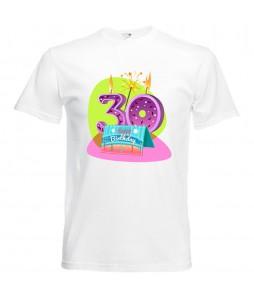 Szülinapi póló - 30 éves férfinak