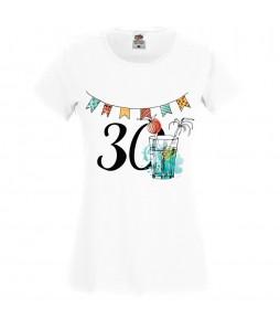 Jubileumi póló - 30 éves nőnek