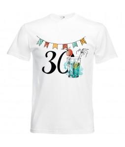Jubileumi póló - 30 éves férfinak