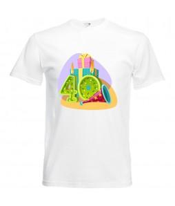 Szülinapi póló - 40 éves férfinak
