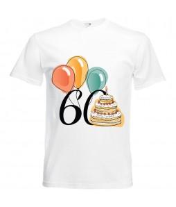 Jubileumi póló - 60 éves férfinak